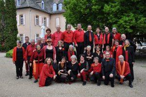 Mai 2018 : Chœur Battant en Lozère avec son concert « Voix du Sacré »
